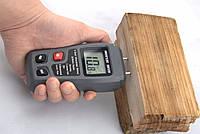 Влагомер древесины игольчатый цифровой Bside EMT01 0-99.9 + русскоязычная инструкция