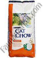 Cat Chow Adult Курица и Индейка