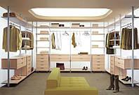 Колонная алюминиевая гардеробная система, фото 1