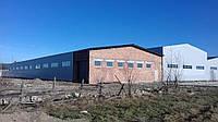 Швидкомонтовані виробничо-складські приміщення. Профнастил., фото 1