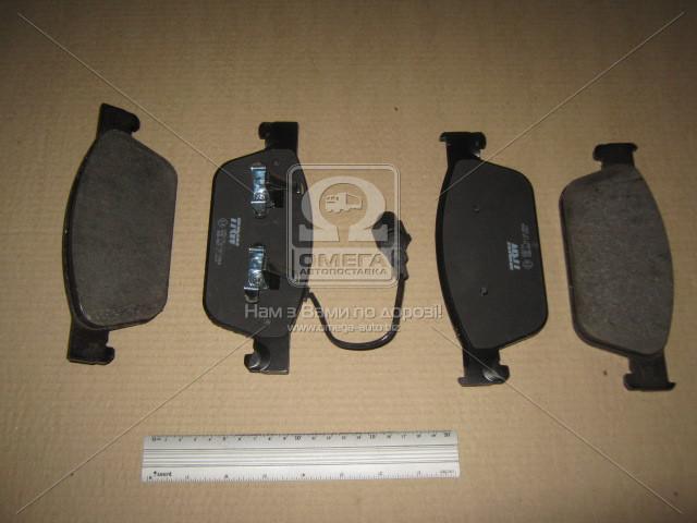 Колодка тормозная Volkswagen T5 передн. (производство TRW) (арт. GDB1887), AGHZX