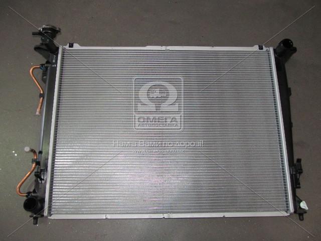 Радиатор охлаждения двигателя Hyundai Sonata 08-/Kia Optima/Magentis 06- (производство Mobis) (арт. 253103K290), AHHZX