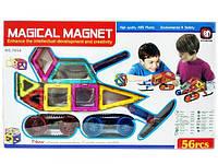 Магнитный конструктор Magical Magnet 7056 (56 деталей), фото 1