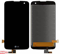 Дисплей (экран) для LG K4 K120E, K4 K121, K4 K130E, K3 K100DS LTE с сенсором черный