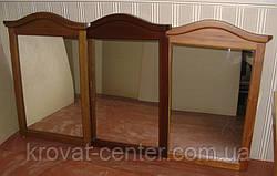 """Туалетный столик """"Микель"""" (столик, пуфик, зеркало). Массив - сосна, ольха, береза, дуб., фото 3"""