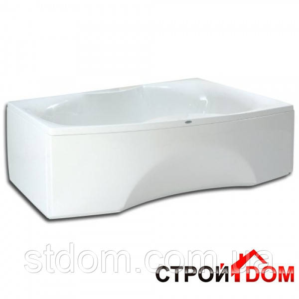 Ванна белая левосторонняя PAA Rigonda