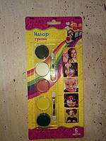 5 цветов краска масло боди-арт для лица для детей от 3 лет Face Paint party