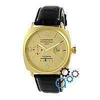 Часы Panerai Luminor Marina Quartz Date 10 Days Black-Gold-Gold