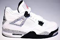 """Оригинальные Баскетбольные Кроссовки Air Jordan Retro 4 IV OG Retro 840606-192 """"Cement"""""""