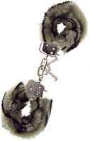Наручники METAL HANDCUFF WITH PLUSH ZEBRA