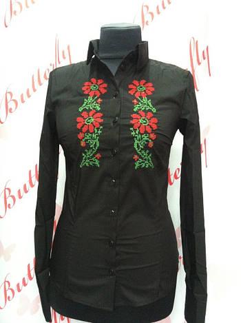 Блуза с вышивкой  в28