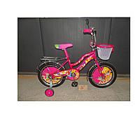 Новинка! Детский двухколесный велосипед Azimut Винкс 16 дюймов