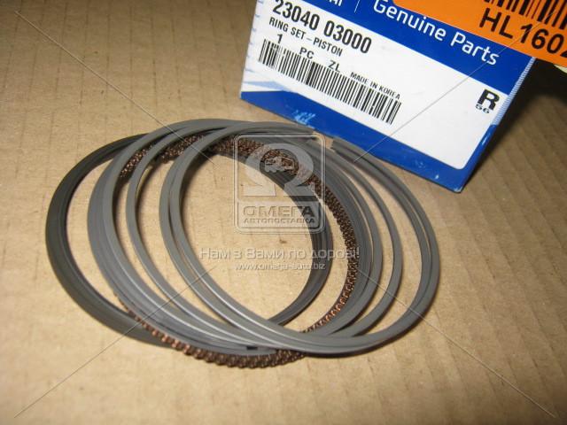 Кольца поршневые (производство Mobis) (арт. 2304003000), AHHZX