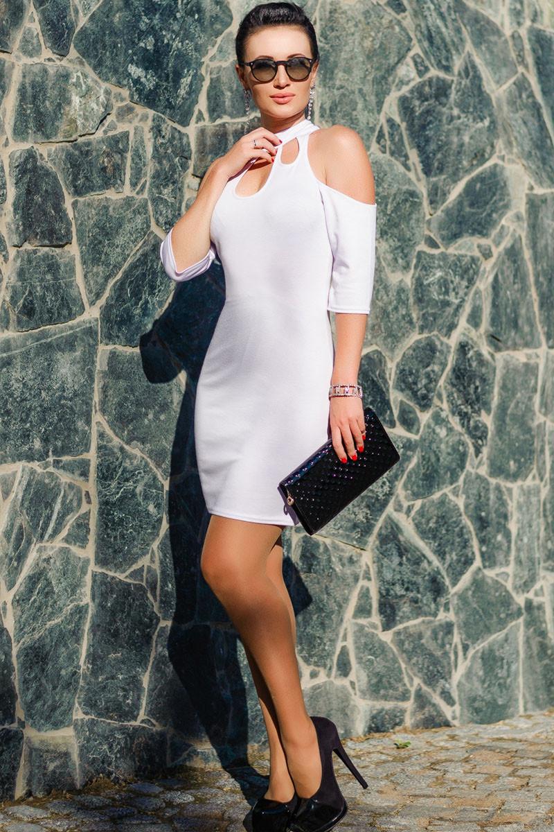 """Белое женское платье """"Infiniti"""""""