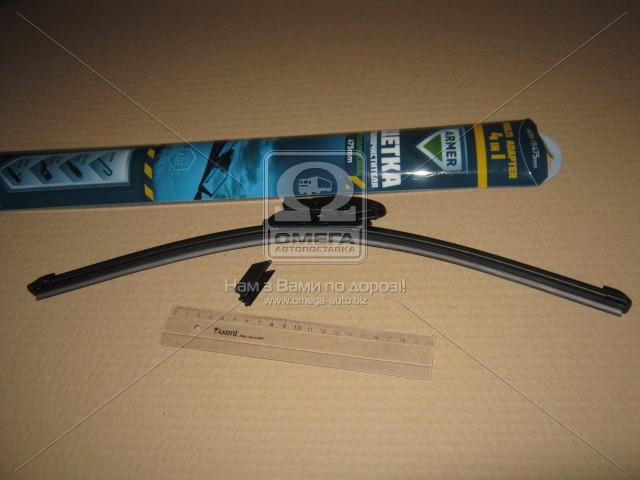 Щетка стеклоочистителя бескаркасная 475мм. (с мультиадаптером)  (арт. ARM-19), AAHZX