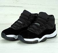 774bdbf3a628 Женские Кроссовки Nike Air Jordan 11 Retro Heiress Black — в ...