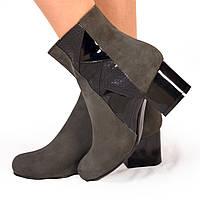 Женские ботинки на каблуке (7054.2) 38, 39