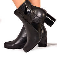 Женские ботинки на каблуке (7054.1) 38, 39