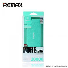 Зовнішній акумулятор Power Bank REMAX Pure RL-P10 10000 mAh бірюзовий