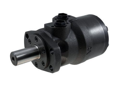 Гидромотор с цилиндрическим валом 32 мм, 4-шарнирное овальное крепление EPMH