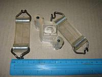 Р/к подвески глушителя ВАЗ 2101-07 (подушка и 2 ремня) силикон прозрачн. Пр-во Украина 2101-1203072/47