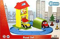 Конструктор ROAD SET 922 автотрек с туннелем (31 деталь)