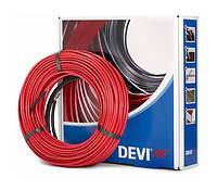 Нагревательный тонкий кабель Devicomfort 10T для тёплого пола под плитку на площадь 0,5 - 1,0мкв, 100Вт