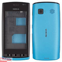 Корпус для Nokia 500 голубой