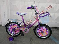 Новинка! Детский двухколесный велосипед Azimut Принцесса 12 дюймов