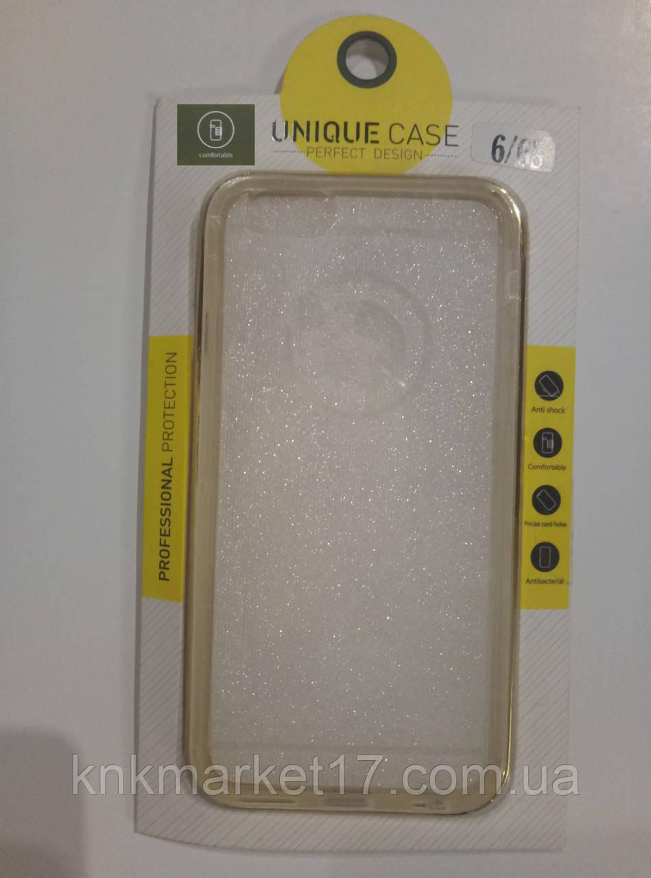 IPhone 6/6s, силикон Metal Frame Gold
