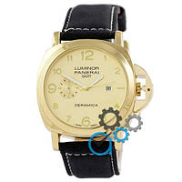 Часы Panerai Luminor Marina Quartz Date Black-Gold-Gold