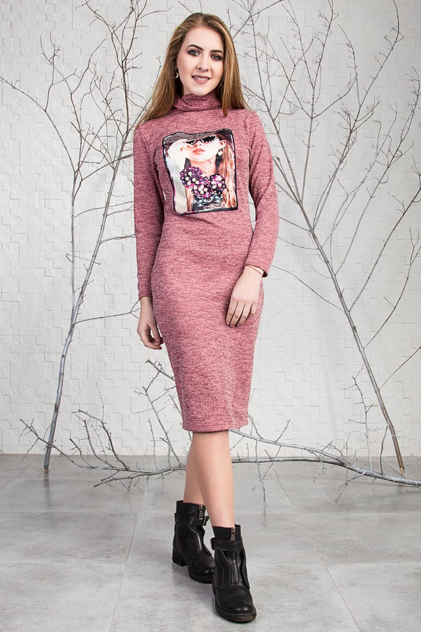 7db9aa292e59f72 Стильное платье из ангоры с воротником : продажа, цена в Хмельницком ...