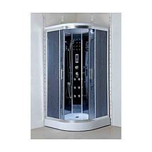 Гидромассажный бокс  90х90 Santeh 4404-07 (стекло Assol), фото 2