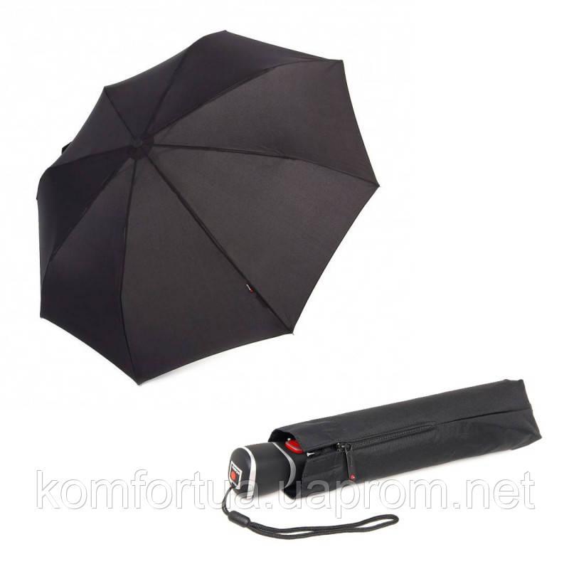 Зонт складной Knirps T3 Duomatic Black автоматический