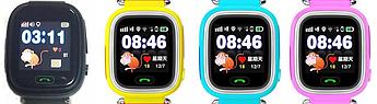 Детские умные часы Q100 (Q90) GPS