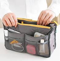 Органайзер для сумочки, серый - ОПТ