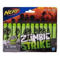 Набор пуль для бластера Зомби страйк NERF Zombie Strike Refill Pack 12штук