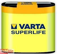 Батарейка Varta 3R12P, 3R12 4.5B Carbon-Zinc Superlife пленка 02012101301