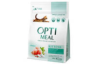 Сухой корм Optimeal Оптимил для котят с курицей, 4 кг
