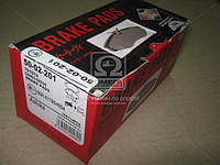 Колодка торм. дисковый тормоз (пр-во ASHIKA) 50-02-201
