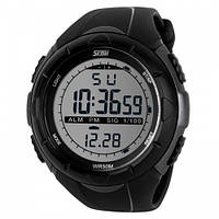 Часы водонепроницаемые спортивные Skmei Black 1025BK