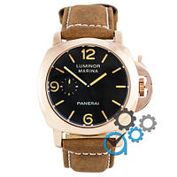 Часы Panerai Luminor 1950 Marina 3 Days Brown-Gold-Black