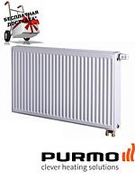 Стальной (панельный) радиатор PURMO Ventil Compact т22 300x900 нижнее подключение