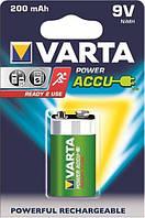 Аккумулятор Varta 9V Krona 6F22 200mAh R2U NiMh 1шт POWER ACCU 56722101401