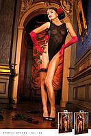 Романтичный тедди с глубоким V-образным вырезом Black Lace Teddy
