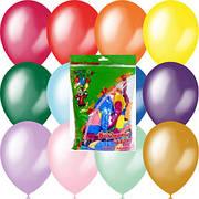 Повітряні кульки в упаковках по 50 шт. без малюнків