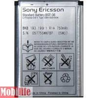Аккумулятор Sony Ericsson BST-36 Оригинал