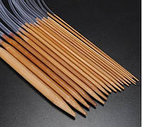 Бамбуковые круговые спицы 2.25мм