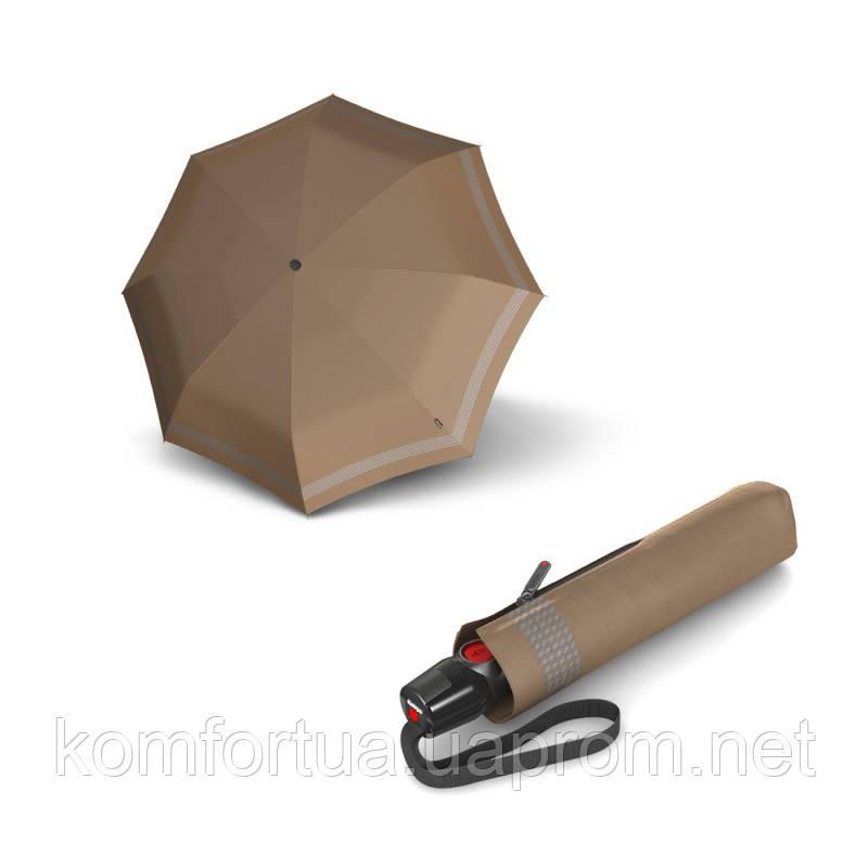 Зонт складной Knirps T.200 Medium Duomatic Reflective Desert автоматический