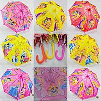 """Детский зонтик оптом """"Принцессы Disney"""" на 5-9 лет от фирмы """"SunnRain"""""""